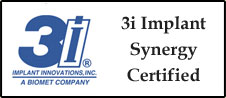 3i Implant Synergy Certified
